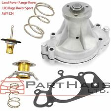 FOR Land Rover Range Rover LR3 Rage Rover Sport Water Pump + Thermostat Kit 2PCS