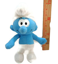 The Smurfs Happy Clumsy Smurf Plush Stuffed Toy Doll Smurf Movie