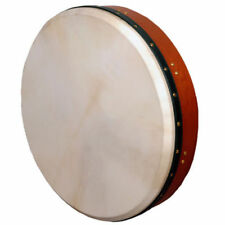 "Muzikkon Irish Bodhran, 18"" Bodhran Drum Tunable, Irish Drum"