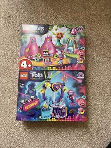 Lego Trolls World Tour Bundle Set 41250 and 41251