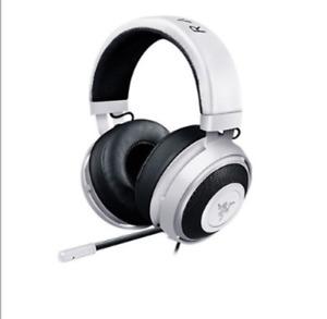 Razer Kraken Pro V2 Analog Gaming Headset Headphone For PC Xbox One PS4 White
