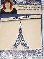 """TATTERED LACE DIES """"EIFFEL TOWER"""" TTLD513 PARIS FRANCE FOR CARDS & SCRAPBOOKING"""