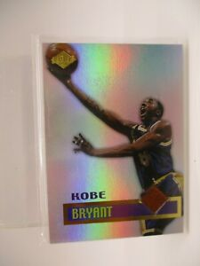 1999 Collector's Edge Rookie Rage Game Ball #GG1 Kobe Bryant LAKERS