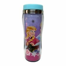 NEW 16oz DISNEY lidded TRAVEL MUG frozen ELSA & ANNA hot/cold BPA FREE ***