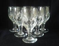 Spiegelau Germany Crystal Cordial / Sherry Glasses SP132 Vintage Set Of 6