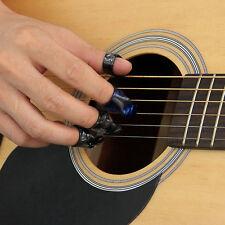 Plastic 1 Thumb And 3 Finger Nail Guitar Picks Plectrums Set EP
