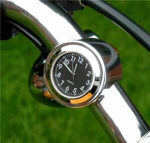New British Made Freeway Bar Clock, Harley, Bike, Motorcycle Etc.