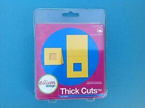 ELLISON DESIGN Thick Cuts - Card, Square
