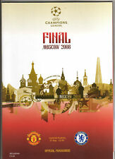 Orig.PRG   Champions League 07/08   FINALE   MANCHESTER UNITED - CHELSEA FC  !!