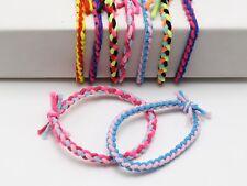 30 Multi-Color Elastic Rope Braided Ruber Hair Tie Hair Bands Ponytail Holder