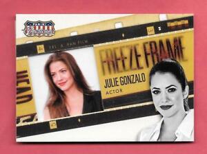2015 Julie Gonzalo Panini Americana Freeze Frame Insert - Actor