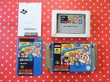 Super Bomberman SNES Super Nintendo in OVP mit Anleitung