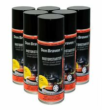 Motorstarthilfespray 9,16€/L 6x400ml  Den Braven  Motor Start Hilfe Spray