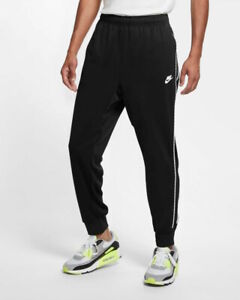 Nike Pantaloni tuta Pants NSW REPEAT PK Joggers Nero 2021 Uomo