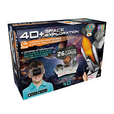 4D+ Utopia 360° Space Exploration Augmented Reality Cards & VR Headset