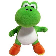 "Mario Bros 8"" Yoshi Plush Soft Stuffed Toy New"