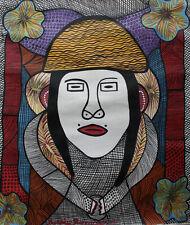 VOODOO Peinture Haïtienne artiste Prosper Pierre-Louis 20x24inc HAITIAN ART