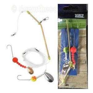Zebco Cod Boat Rig 2 - 2 x Size 1 Hooks - Sea Fishing Tackle - Fast Post!