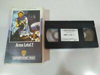 ARMA LETAL 2 MEL GIBSON DANNY GLOVER RICHARD DONNER - VHS Cinta Tape Español
