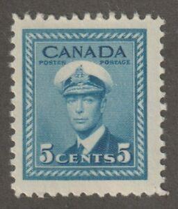Canada 1942 #255 King George VI War Issue - F MNH