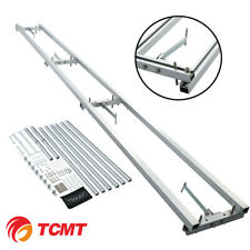 Rail Mill Guide System 9 Ft, 2 Crossbar Kits Work Chainsaw Mill Guide Set ladder