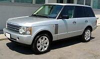 Range Rover L322 Workshop Service Manual