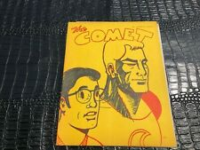 #1 THE COMET sci-fi pulp comic fanzine (1973) FIRST ISSUE