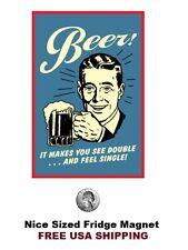 272 - Funny Beer Drinking Humor Refrigerator Fridge Magnet