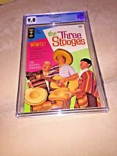Three Stooges #42, CGC 9.8, White Pages