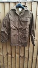 SOUTH AFRICAN SADF NUTRIA BROWN PATTERN PADDED BUSH JACKET - SMALL - NEW