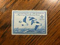 RW 15 1948 $1.00 Buffleheads Duck Stamp, Mint Never Hinged