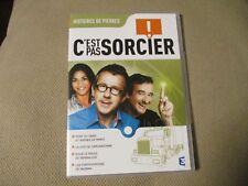 """DVD NEUF """"C'EST PAS SORCIER - HISTOIRES DE PIERRES"""" Fred & et Jamy"""