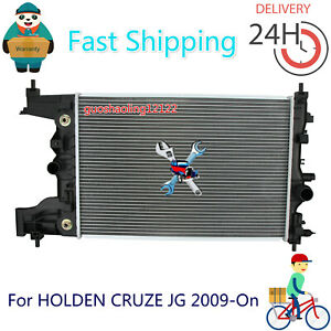 Premium Radiator For HOLDEN CRUZE JG 2009-On Auto & Manual AU Stock Brand New