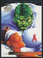 1995 Flair Marvel Annual Trading Card #83 Loss of a Friend