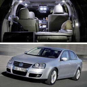 9Pcs SMD LED White Light Interior Package Deal for Volkswagen Jetta 2006-2010