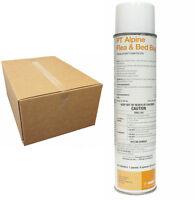 BASF Alpine PT Flea Bed Bug Aerosol Insecticide (12 Cans ) Kills Bed Bugs Fleas