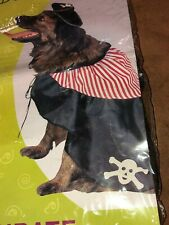 Booville PIRATE dog costume Medium Dogs 14-16 inches