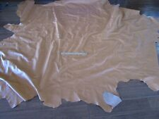 Large Piece Of Tanned Hide Leather Ferrari Interior Color 36 Sq Feet !