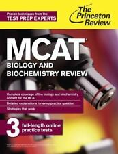 MCAT Biology and Biochemistry Review: New for MCAT 2015 Graduate School Test Pr