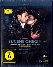 Blu-Ray TCHAIKOVSKY EUGENE ONEGIN Anna NETREBKO KWIECIEN BECZALA VOLKOVA GERGIEV