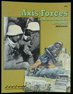 AXIS FORCES IN NORTH AFRICA 1940-43 - CONCORD 6521 - NEW