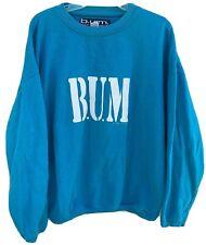 Vintage BUM Equipment Sweatshirt c 1992 90s 1990s M