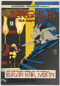CEREBUS NO.5 | DAVID SIM 1978 VF+