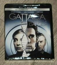 Gattaca (1997) Ethan Hawke (Blu-ray + 4K Uhd) Brand New!