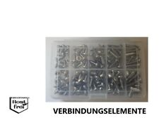 Blechschrauben Sortiment 100 Teile Linsenkopf DIN 7981 EDELSTAHL A2 Ø 5,5-6,3