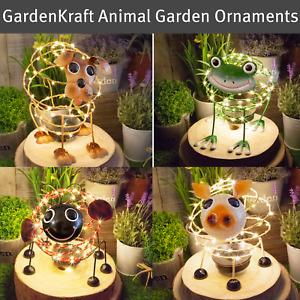 GardenKraft Solar Powered Animal Themed Garden Ornaments / 4D Moving Effect