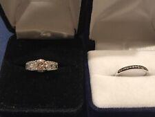ring/ Band diamond engagement