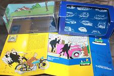 Tintin Boite vide du cabriolet des Dupondt du Sceptre d'Ottokar Ford V8 de 1937