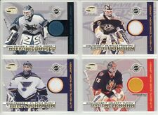 2003-04 PACIFIC INVINCIBLE JAMIE McLENNAN JERSEY GAME USED Flames