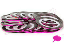 STRIPING TAPE 20M NAIL ART - LINE STICKER ROLL - Hot Pink